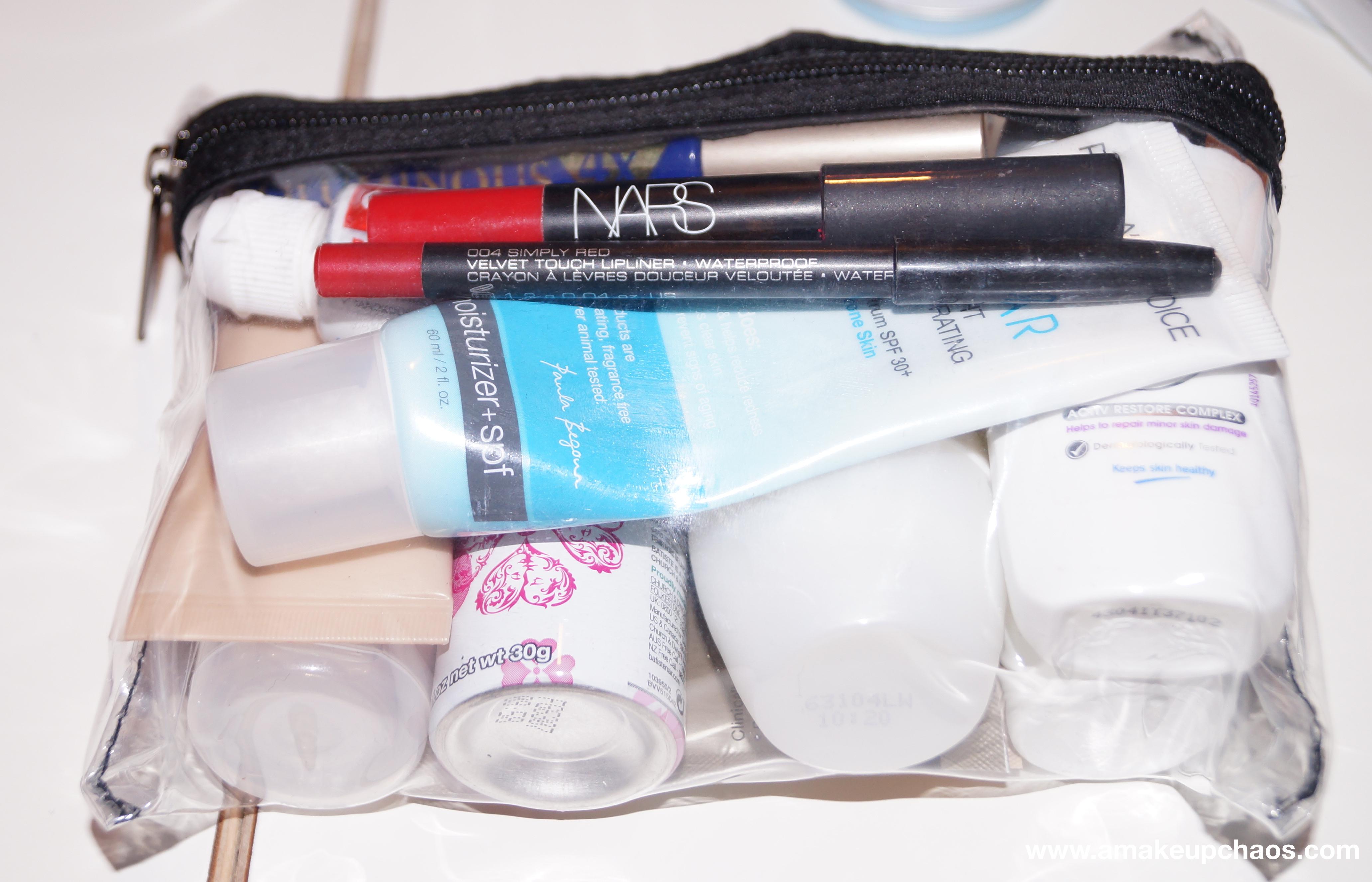 hvad er væsker i håndbagage