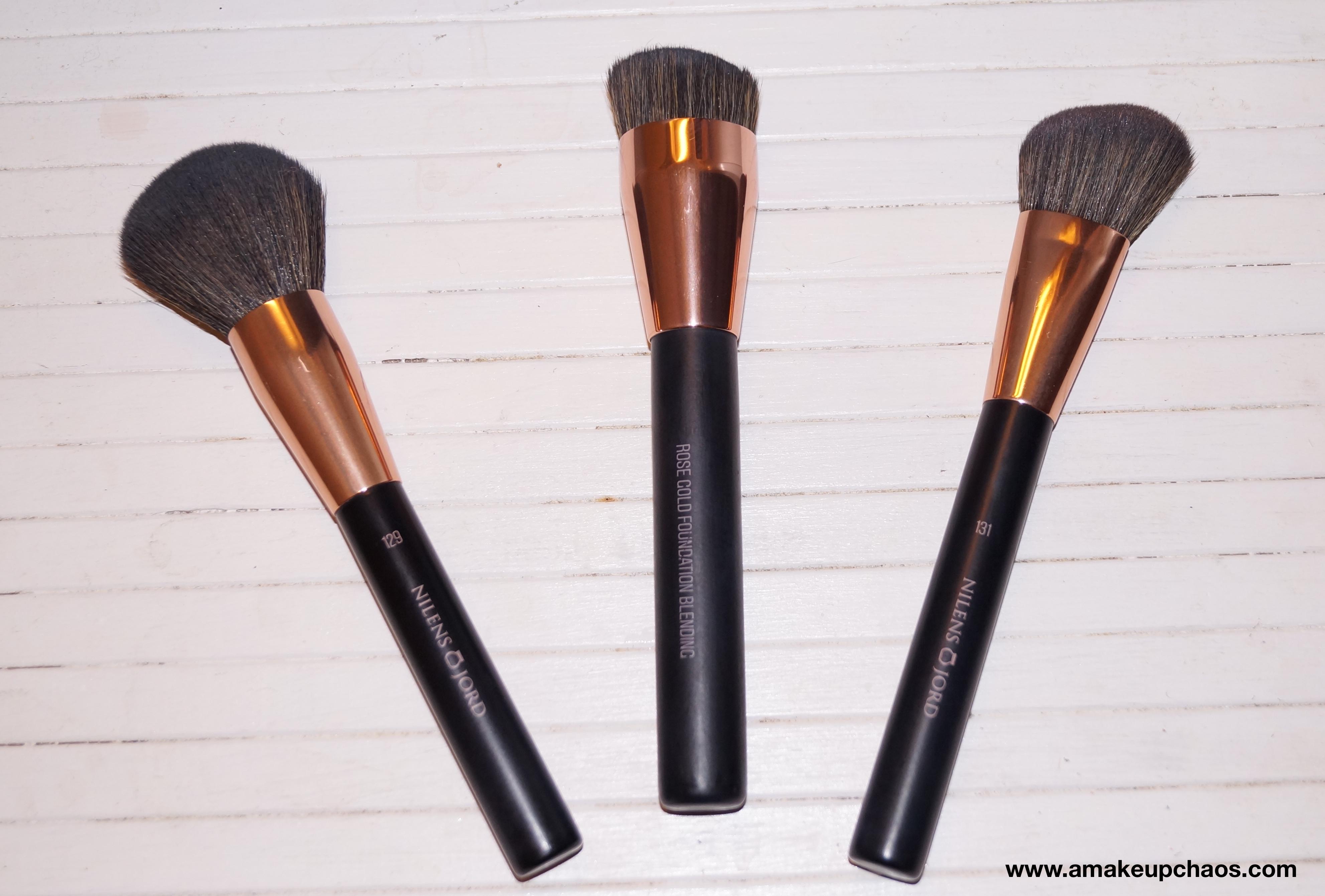 Efterstræbte Nilens Jord Rose Gold Foundation Brush 130 – A Makeup Chaos ZK-09